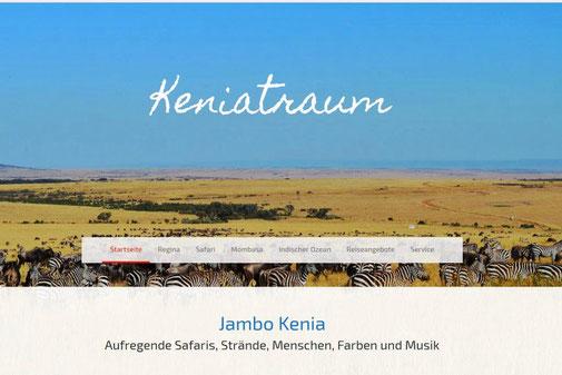 Startseite von www.keniatraum.de