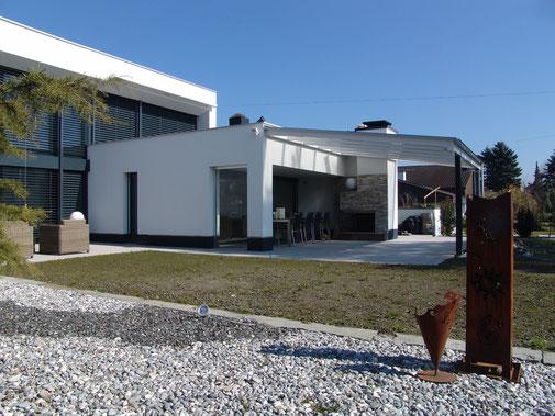 WPC Deck Steingrau – Terrasse