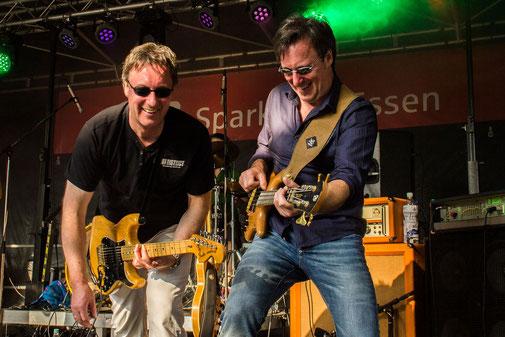 Detlef und ich mit Pacific Sky, Rü-Fest, Juni 2013