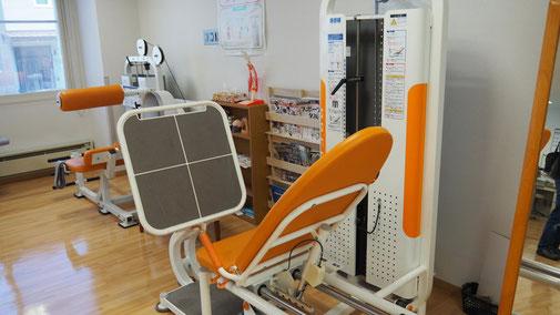 リハビリテーション室の写真