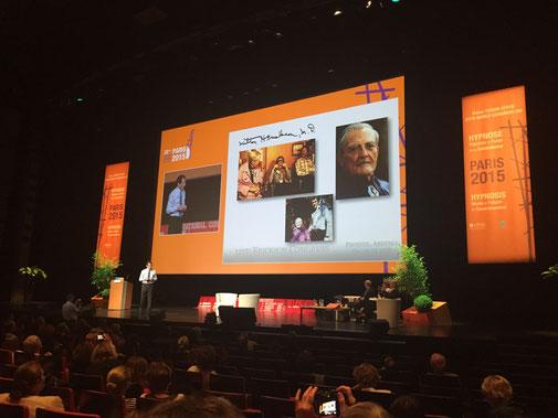 Conférence Jeffrey Zeig, ISH, Paris 2015