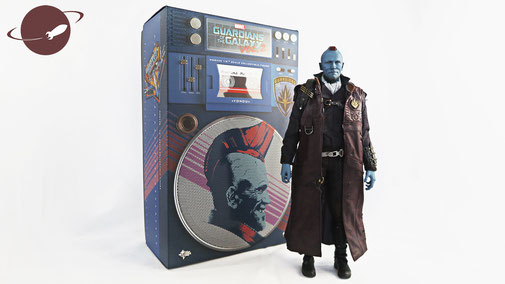 Hot Toys Yondu Sixth Scale 1/6 Review FANwerk Blog Figure Collectible Guardians of the Galaxy Packshot