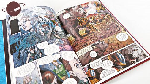 Die Superhelden Sammlung Band 32 33 Warlock Die Tapferen Drei