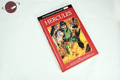 Marvel Supherhelden Sammlung Hercules Cover Blog Review FANwerk Comics