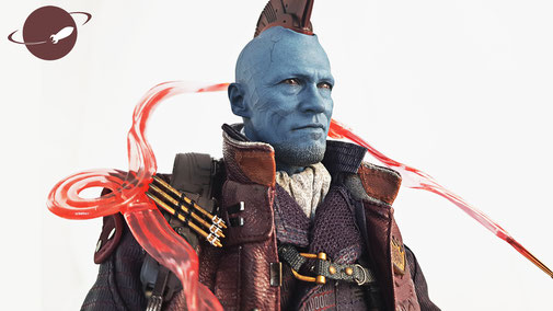 Hot Toys Yondu Sixth Scale 1/6 Review FANwerk Blog Figure Collectible Guardians of the Galaxy Headsculpt Michael rooker