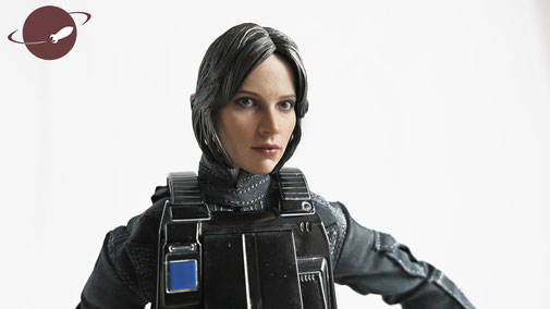 Hot Toys Jyn Erso Imperial Disguise Figuren Review One Sixth 1/6 Scale Star Wars Rogue One FANwerk