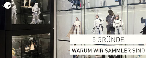 5 gründe warum wir sammler sind hot toys figuren one sixth collector sixth scale Sammlung FANwerk blog Star Wars Figuren