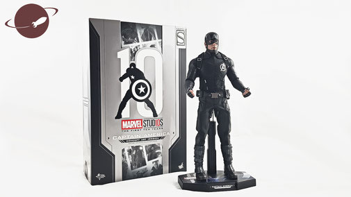 Hot Toys 1/6 Captain America Concept Art Figuren Review Collection Marvel FANwerk Blog Sideshow Shop Figure be-toys