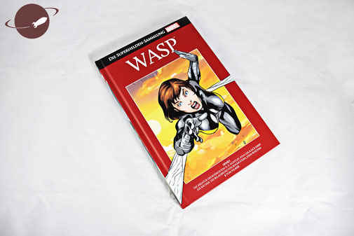 Marvel Supherhelden Sammlung Wasp Cover Blog Review FANwerk Comics