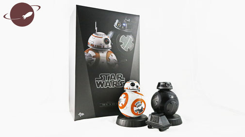 Hot Toys Figuren Review bb-8 bb-9e set star wars episode 8