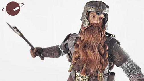 Asmus Gimli Figuren Review Sixth Scale 1/6 Figure FANwerk Blog Lord of the Rings Herr der Ringe