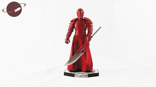 Hot Toys Figuren Review FANwerk Posing Star Wars Letzten Jedi Praetorian Guard Last Jedi Rey Kylo Snoke
