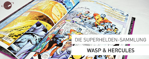 Marvel Supherhelden Sammlung Wasp Hercules Blog Review FANwerk Comics
