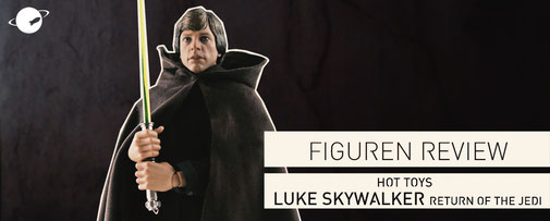 Hot Toys Luke Skywalker Star Wars Episode 6 Return of the Jedi Figuren Review FANwerk blog