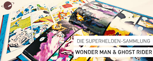 superhelden sammlung comics wonder man ghost rider review marvel fanwerk blog