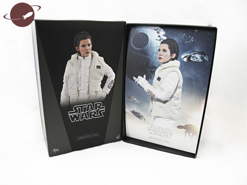 Hot Toys Princess Leia Hoth Outfit Sixth Scale Figure Unboxing Review FANwerk Karton