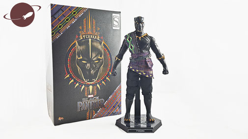 Hot Toys 1/6 Sixth Scale Marvel Black Panther T'Chaka Exclusive Sideshow Figuren Review be-toys FANwerk Shop