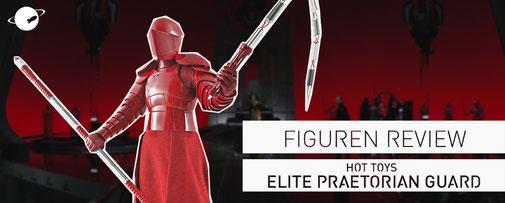 Hot Toys Figuren Review FANwerk Star Wars Letzten Jedi Praetorian Guard Last Jedi Rey Kylo Snoke