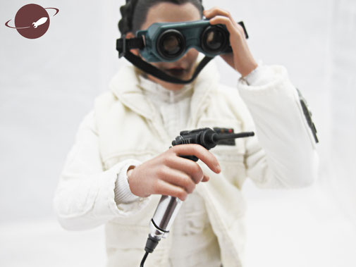 Hot Toys Princess Leia Hoth Outfit Sixth Scale Figure Unboxing Review FANwerk Zubehör