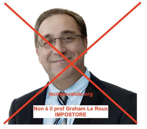 professore graham le roux impostore falso metodo ripple