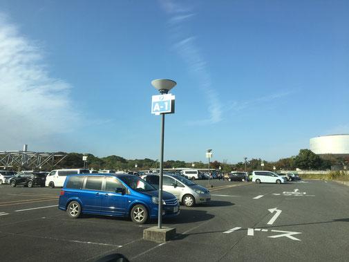 日本庭園前駐車場