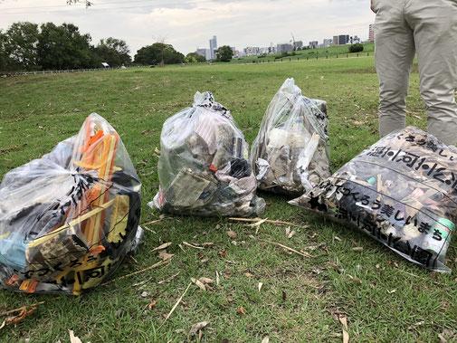 淀川西中島地区清掃活動