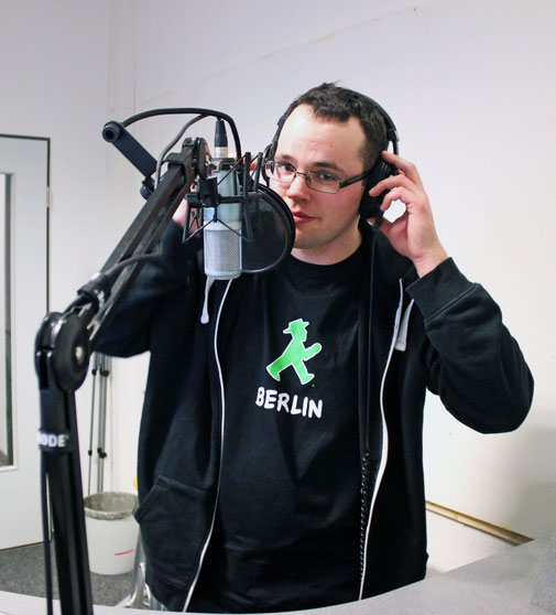 Ich bin mit dem Kieler Jugend Radio auf Sendung (2015)