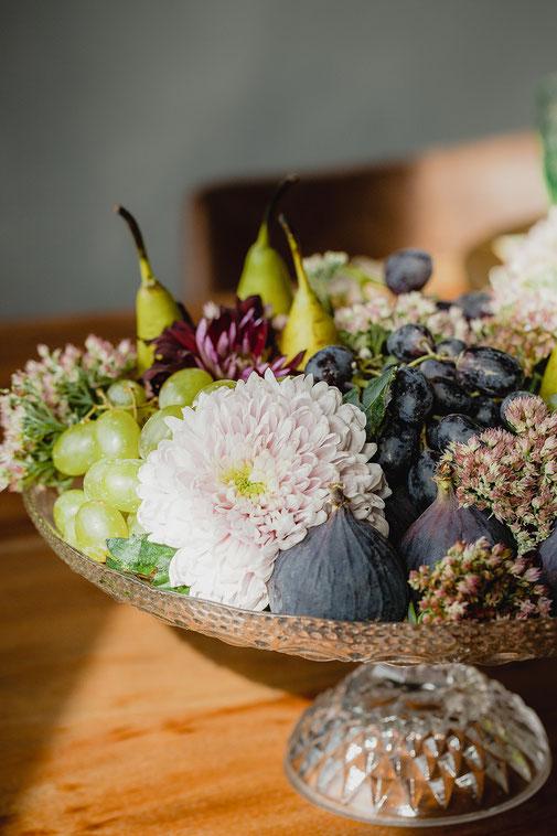 Obstteller Hochzeit