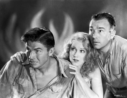 Bruce Cabbot (Driscoll), Fay Wray (Ann Darrow), Robert Armstrong (Charles Denham)