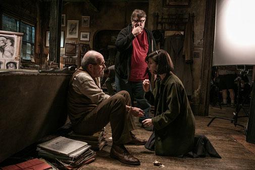Guillermo Del Toro sur le tournage de La forme de l'eau
