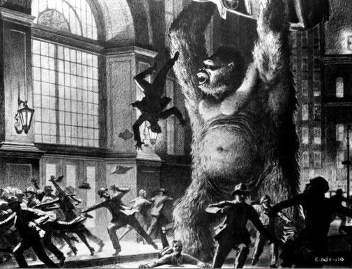 Concept Art King-Kong(1933)