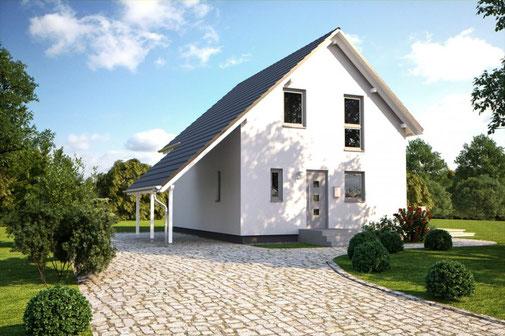 Einfamilienhaus Bärenhaus Tostedt Fertighaus-Nord