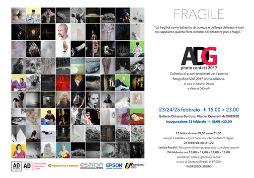 "ADG 2017 photocontest - tema ""Fragile"""