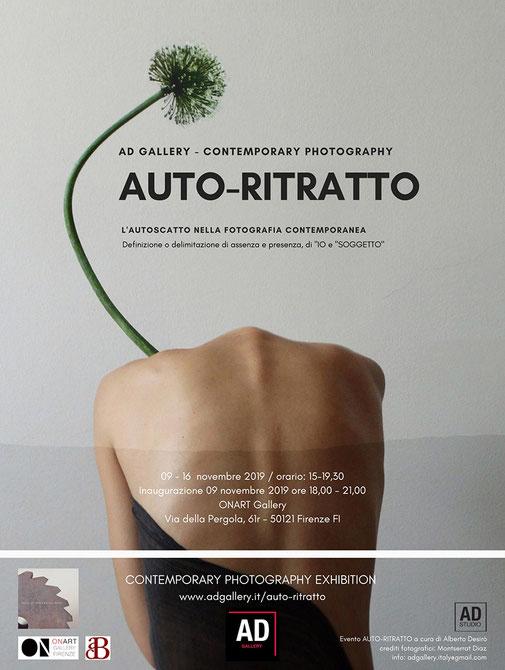 AD Gallery contemporary photography - mostra auto-ritratto #01 - Firenze - a cura di Alberto Desirò