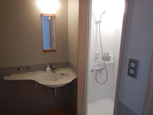 Wash room andshower room