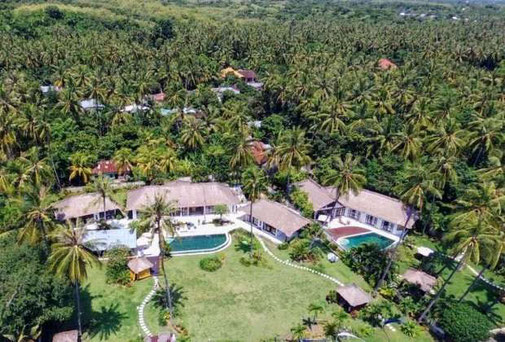 North Bali 3 bedroom villa for sale with rice paddy and ocean views