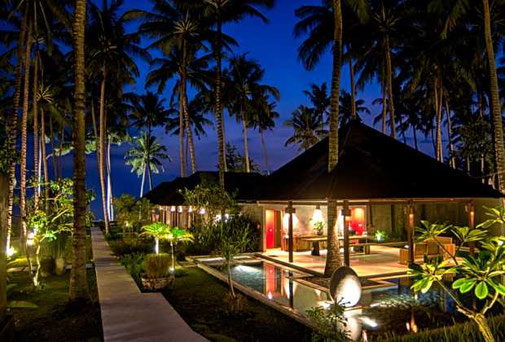 Lombok Senggigi beach front resort for sale