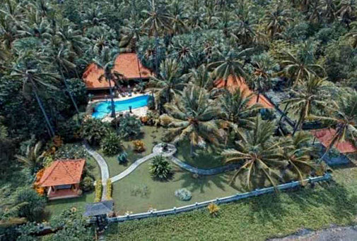 East Bali beachfront villa for sale by owner.