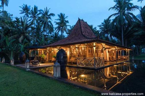 West Bali beachfront villa for sale.