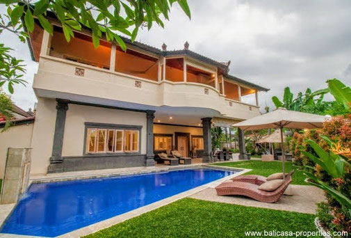 Cemagi villa for sale with 5 bedrooms