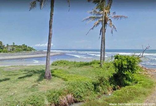 Tabanan beachfront land for sale