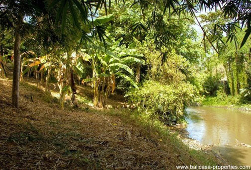 Padang Galak river front land for sale