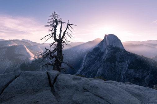 Fotokunst - Ralf Kämper - rk-insights - digital Art - USA - Kalifornien - Yosemite - Glacier Point - Bild - Sonnenaufgang