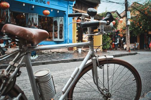 Fahrrad in der Altstadt von Hoi an