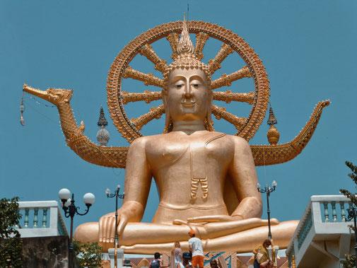Goldener Big Buddha Koh Samui