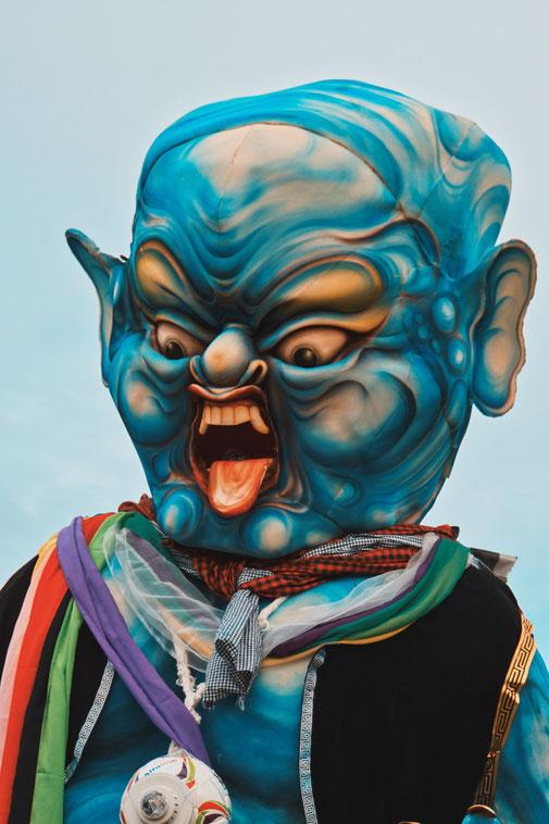 Ogoh-Ogoh Figur an Nyepi