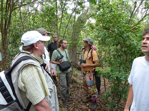 Le conseil scientifique en visite sur la réserve