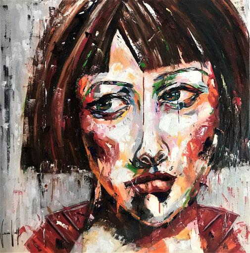 Poträt, Frauenporträt, Ölgemälde