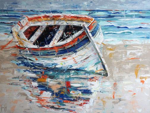 Boot, Wasser, Strand
