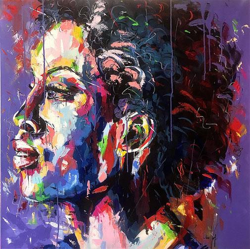 Frauenporträt, Porträt, Expressionismus, Modern